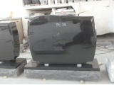 Shanxi Black Standard Headstone For