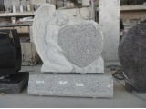 Chinese Granite Angel Carving Headstone