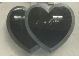 Polished Honed Double Heart Marker
